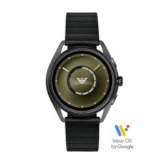 Emporio Armani Men's Gunmetal Smartwatch - ART5009