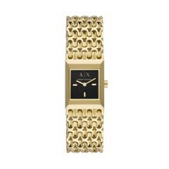 Armani Exchange Two-Hand Gold-Tone Stainless Steel Watch - AX5909