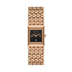 Armani Exchange Two-Hand Rose Gold-Tone Stainless Steel Watch - AX5910