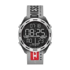 Diesel Men's Crusher Smoke Round Nylon Watch - DZ1894