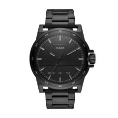 Diesel Watches Men's D-48 Black Round Stainless Steel Watch - DZ1934
