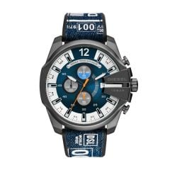 Diesel Mega Chief Chronograph Denim Watch - DZ4541