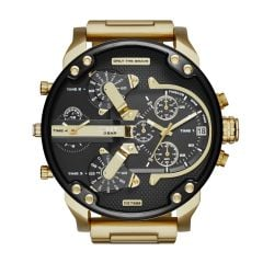 Diesel Men's Mr. Daddy 2.0 Gold Round Stainless Steel Watch - DZ7333
