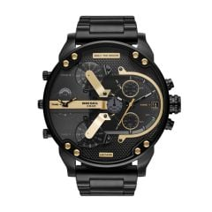 Diesel Mr. Daddy 2.0 Chronograph Black Stainless Steel Watch - DZ7435