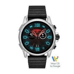 Diesel Touchscreen Smartwatch Full Guard 2.5 Black Leather - DZT2008