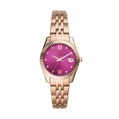 Fossil Women's Scarlette Mini Rose Gold Round Stainless Steel Watch - ES4900