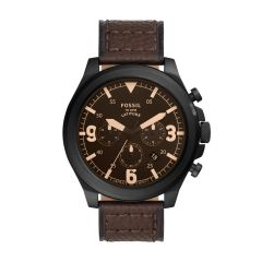 Fossil Men's Latitude Brown Leather  Watch - FS5751