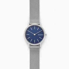 Skagen Women's Signatur Silver Round Stainless Steel Watch - SKW2759