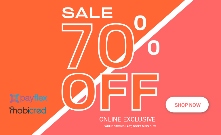 70% OFF SITE WIDE