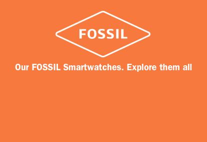 Fossil Brand Banner